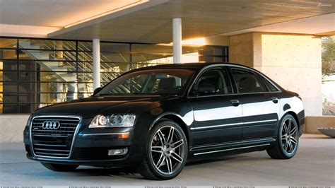 black audi front pose of audi a8 l in black wallpaper