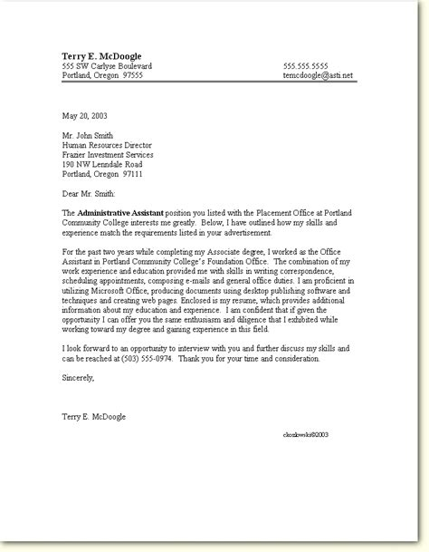 8 cover letter for employment sales report template