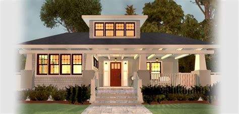 modern craftsman floor plans  modern house plan