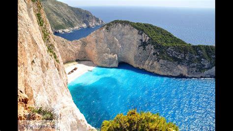 navagio beach zakynthos grecia youtube