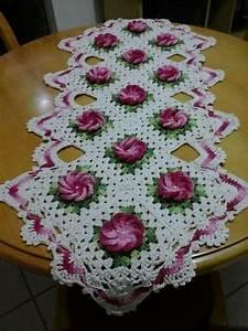 Free Crochet Table Runner Patterns Free Floral Crochet