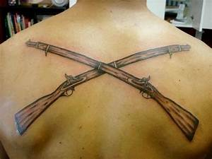 crossed rifles tattoo image search results