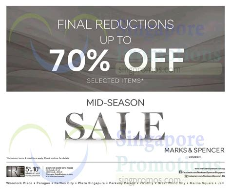 23 Oct Final Reductions Up To 70 Percent Off » Marks ...