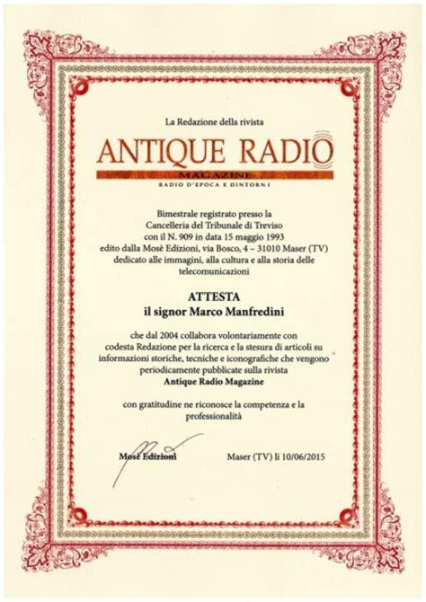 valutazione radio depoca