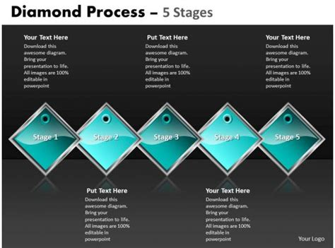 diamond process  stages  powerpoint