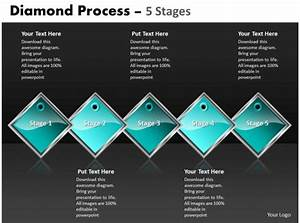Diamond Process 5 Stages 34 Powerpoint Presentation