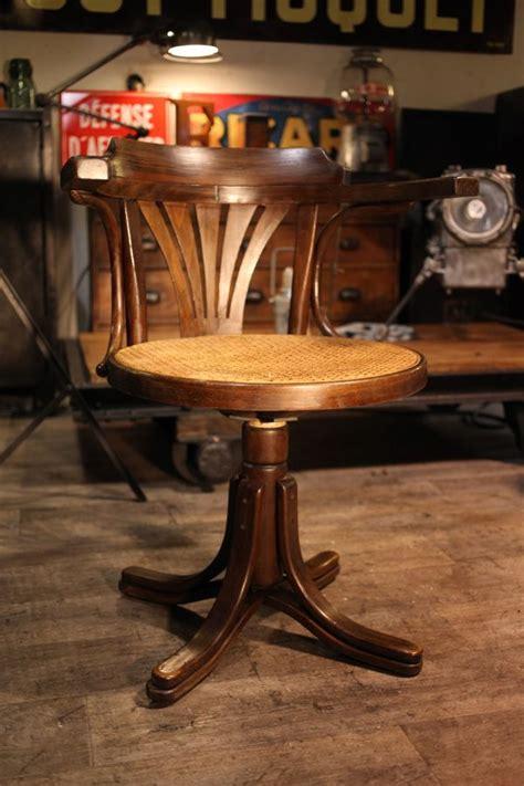 siege de bureau fauteuil thonet ancien meuble industriel