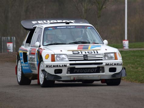 Peugeot 205 T16 Evolution 2 Group B 1985 Racing Cars