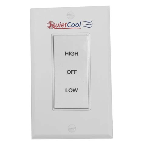 2 speed fan switch quietcool 2 speed control switch it 35000 the home depot