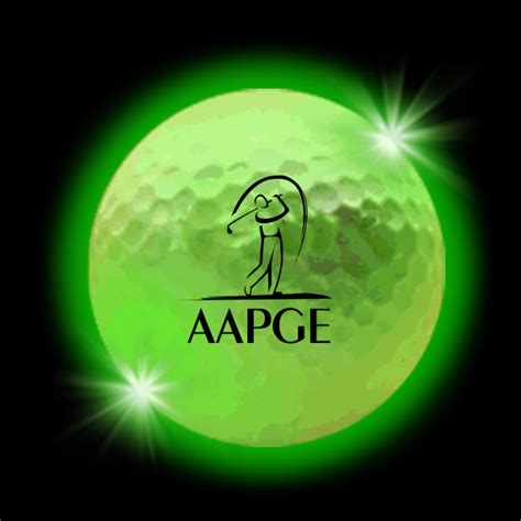 lumi鑽e led cuisine customized green lumi led golf balls usimprints