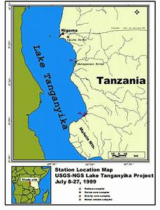 USGS Heads to Lake Tanganyika to Study Delivery of River ...