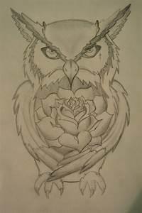 Owl tattoo design by Cr0wdedmind on DeviantArt