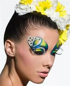Karneval Gesicht Schminken : schminken f r fasching 52 ideen f r auff lliges erscheinungsbild ~ Frokenaadalensverden.com Haus und Dekorationen