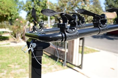 allen hitch bike rack allen sports deluxe 4 bike hitch mount rack review