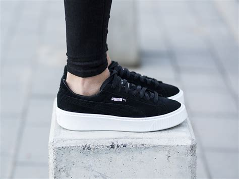 womens shoes sneakers puma suede platform