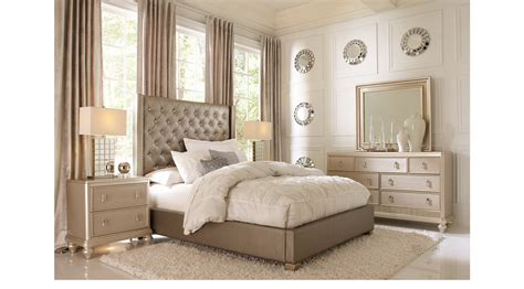 mirror frame molding gray 5 pc bedroom upholstered contemporary