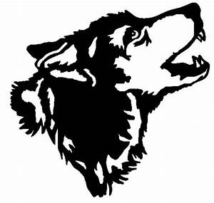 Simple Wolf Head Clipart - The Cliparts