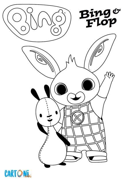 bing personaggi da colorare scarica gratis tutti  disegni