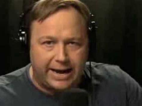 Alex Jones Crazy 2007 Rant About Rival Talk Radio Host