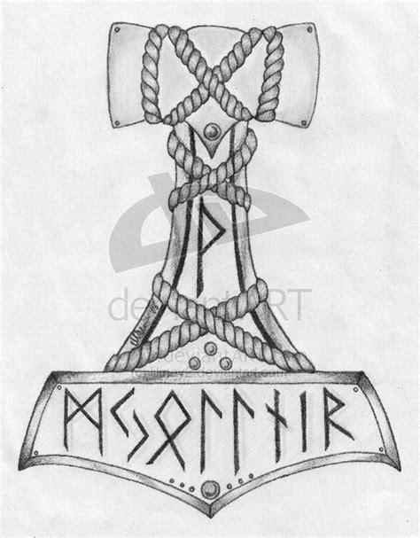 Mjolnir tattoo idea - maybe rethinking what ive got planned   Tattoos   Norse tattoo, Viking