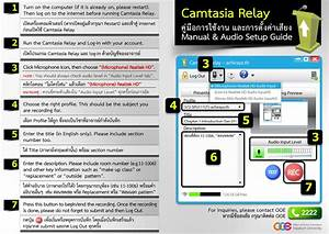 Camtasia Relay Manual Guide