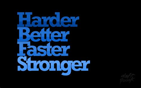 Daft Punk, Harder Better Faster Stronger