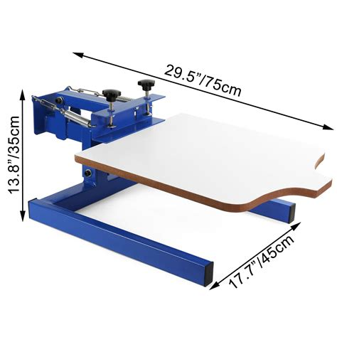 color screen printing press kit machine  station silk