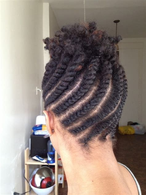 flat twist updo hairstyles for black hairstylo