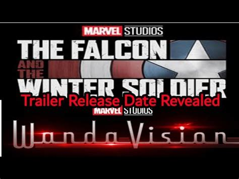 Earlier in the year, a wandavision release date the wandavision trailer starts out like a traditional sitcom, but quickly gets stranger and stranger. Falcon And Winter Soldier And Wandavision Trailer Release ...