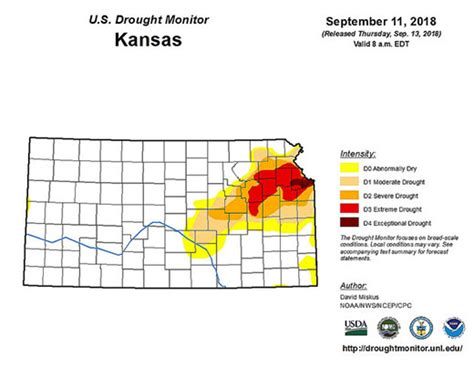 Late Summer Rain Eased Drought In Parts Of Kansas But