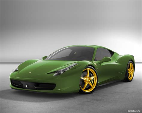 Black And Green Ferrari 17 Background Hdblackwallpapercom