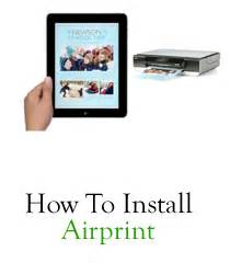 how to set up airprint on iphone airprint activator