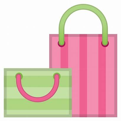 Emoji Icon Shopping Clipart Bag Bags Compras