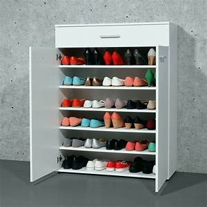 Rangement Chaussures Original : meuble chaussure tourniquet elegant fabriquer rangement chaussures rangement chaussures en bois ~ Teatrodelosmanantiales.com Idées de Décoration