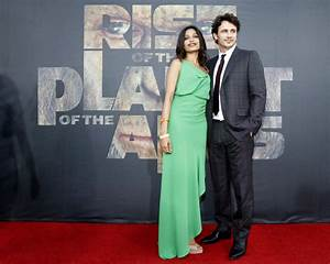 James Franco, Freida Pinto swing by 'Planet of the Apes ...