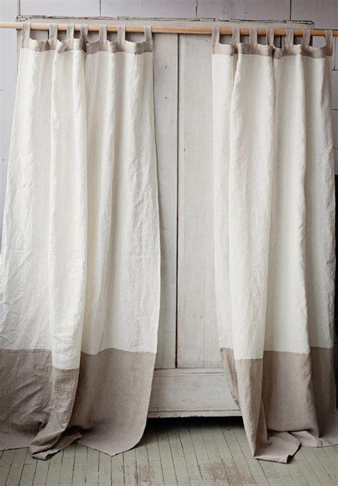 best 25 white linen curtains ideas on