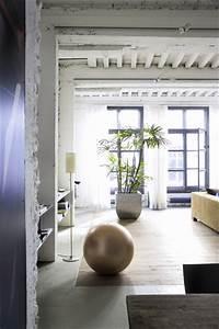 Deco Zen Salon : deco salon bleu et blanc canape beige ambiance zen ~ Teatrodelosmanantiales.com Idées de Décoration