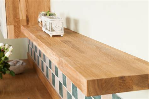 Solid Oak Floating Shelves & Oak Shelving-worktop Express