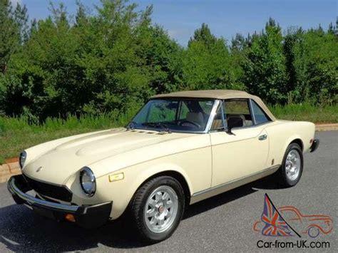 1982 Fiat Spider 2000 by 1982 Fiat Spider 2000
