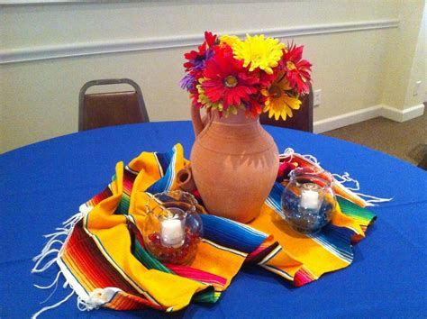 mexican centerpieces  posh pixie mexican party table