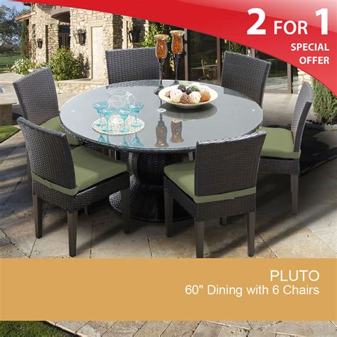 60 inch dining table patio dining table for 6