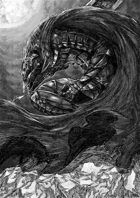 Berserk - Guts in Berserk Armor (Fanart by Pixiv user とうろう) | Berserk | Berserk, Manga art
