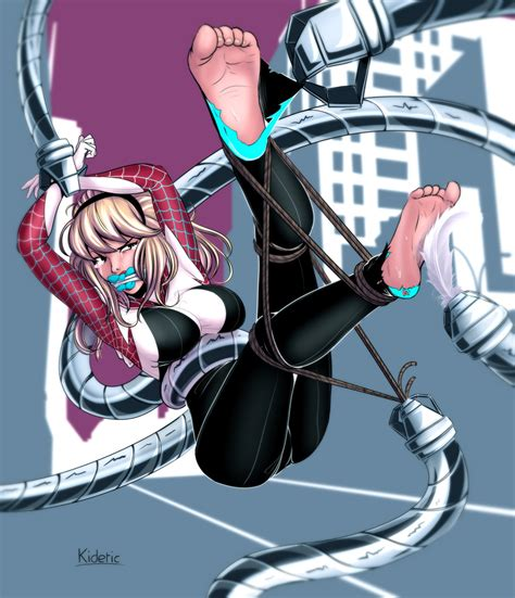 Gwen Stacy Tormented By Kidetic On Deviantart