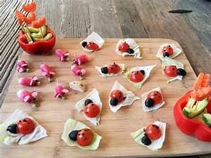 Idée Recette Anniversaire : recette enfants ap ro tomates cerises coccinelle et radis roses souris youtube ~ Melissatoandfro.com Idées de Décoration