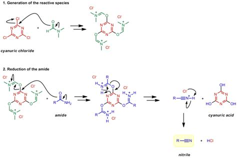 Amide To Nitrile Reduction