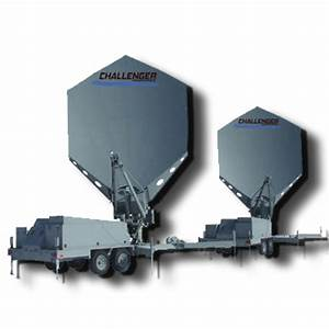 3.8 Meter Quick-Deploy Trailer Mount Satellite Antenna