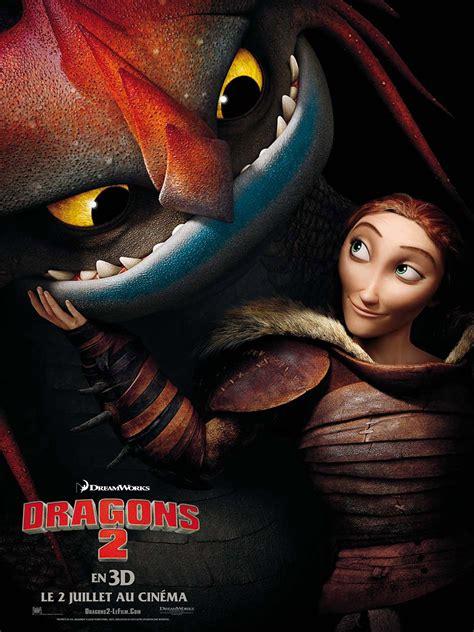 affiche du film dragons  affiche  sur  allocine