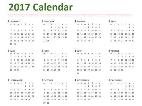 12 month calendar template 2017 2017 calendar templates 5 plus weekly and monthly calendars