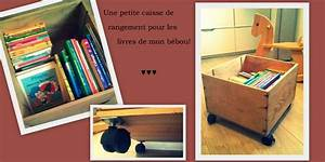 Rangement Livre Enfant : diy caisse vin roulette rangement livres jouets ~ Farleysfitness.com Idées de Décoration