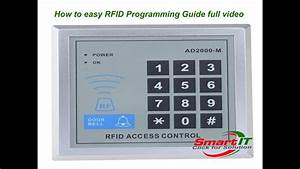 How To Easy Rfid Programming Guide Full Video